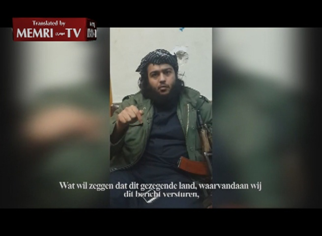 Jihadist Calls on Dutch Muslims to Join the Jihad in Syria