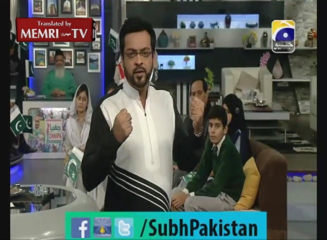Pakistani TV Host and Former Minister Aamir Liaquat Husain: India Behind Peshawar School Terror Attack