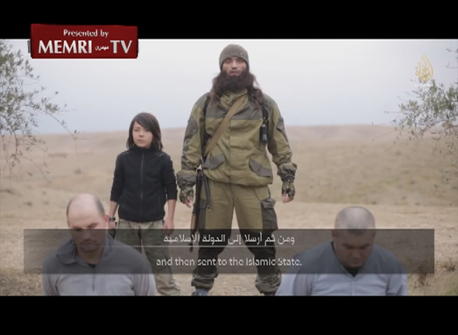 WARNING GRAPHIC IMAGES: ISIS Video Shows Boy Executing Russian