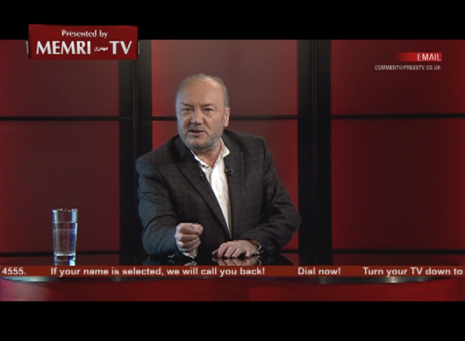 British MP Galloway Slams Anti-Houthi Campaign on Iran TV: The Saudis Are Treacherous Snakes