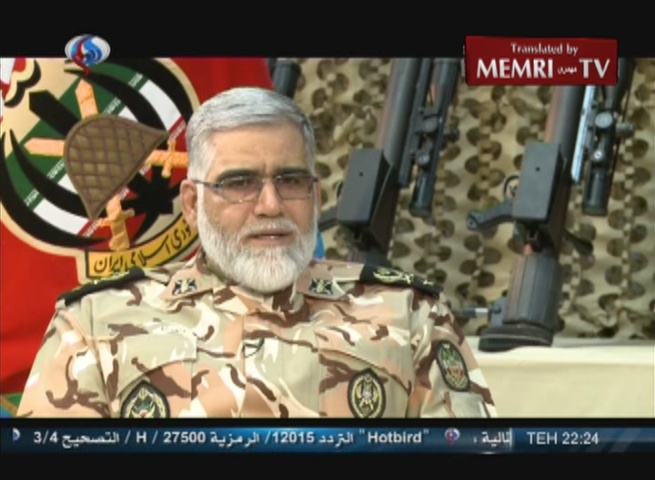 Iranian General Ahmad Reza Pourdestan Discusses Possible Terror Attacks in Saudi Cities, Adds: U.S. behind 9/11