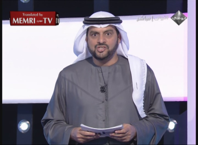 Abu Dhabi Tv Host Khalifa Al Swaidi Gives Advice On How To Avoid Sexual Temptation Avoid Youtube Practice Sports And Cut Down On Ginger And Other Stimulants Memri
