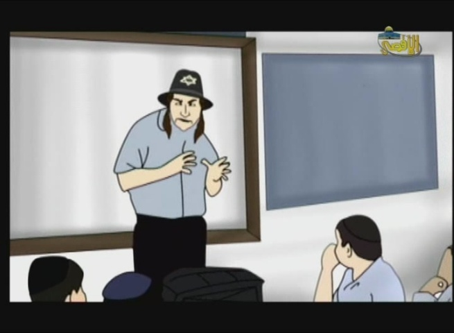 Antisemitic Hamas TV Cartoon Portrays Stereotypical Jews, While Accusing Israeli Education System of Racism
