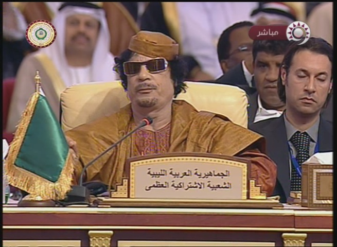 Libyan Leader Qadhafi to Saudi King Abdallah at the Doha Summit: You Were Created by Britain and Are Protected by the U.S.