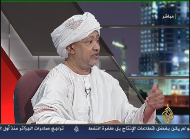 "Leader of the Sudanese ""Justice Peace Platform"" Al-Tayyib Mustafa in Favor of the Partitioning of Sudan"