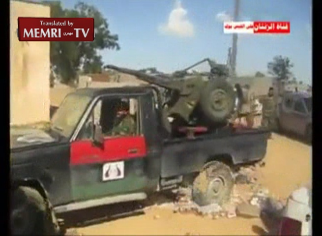 Footage of Libyan Rebels Destroying Stash of Alcohol