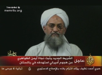 Al-Qaeda Leader Ayman Al-Zawahiri to American People: Bush and His Gang Are Causing Your Deaths, in Iraq and Afghanistan, and Even, Allah Willing, in Your Own Home