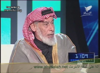 Iraqi Cleric Ahmad Al-Kubeisi Promotes Jihad on A New Saudi Channel Broadcasting from Kuwait