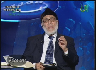 Egyptian Cleric Zaghloul Al-Naggar: Israel Must Be Destroyed. America Will Be Dissipated to Nothing