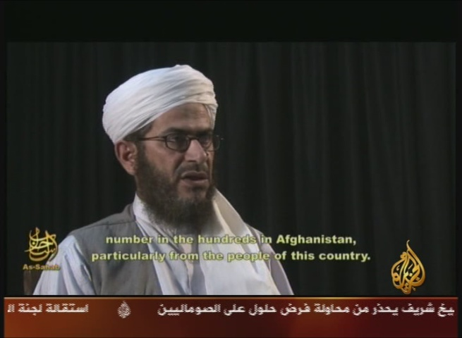 Al-Qaeda Presents New Leader in Afghanistan, Mustafa Abu Al-Yazid, Who Threatens to Carry out Attacks against Turkey