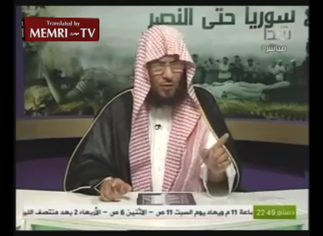 "Saudi Cleric and Poet Muhammad Al-Farraj Lauds Hitler for ""Barbecuing"" Russians and Jews"
