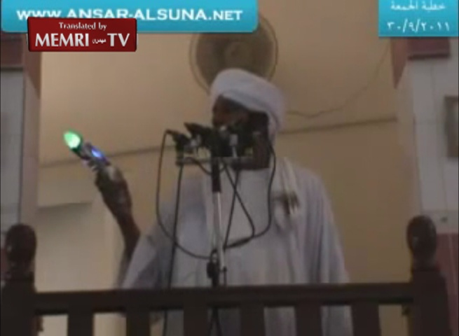 Sudanese Preacher Sheik Muhammad Al-Amin Ismail Accuses Shiites of Distributing Anti-Sunni Toy Guns