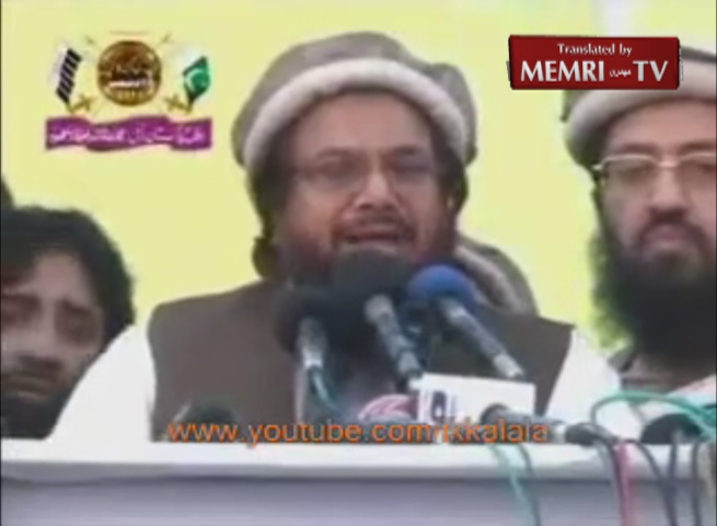 "Hafiz Muhammad Saeed, Founder of Pakistani Lashkar-e-Taiba Militant Group, Pledges to Wage Jihad against the US and India and Says: ""Atomic Pakistan Will Shine on the Map of the World"""