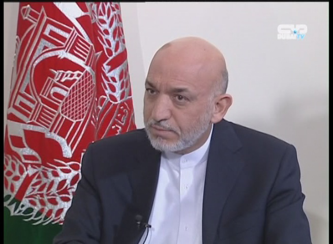 President of Afghanistan Hamid Karzai: Pakistan Is the Source of Terrorism in My Country