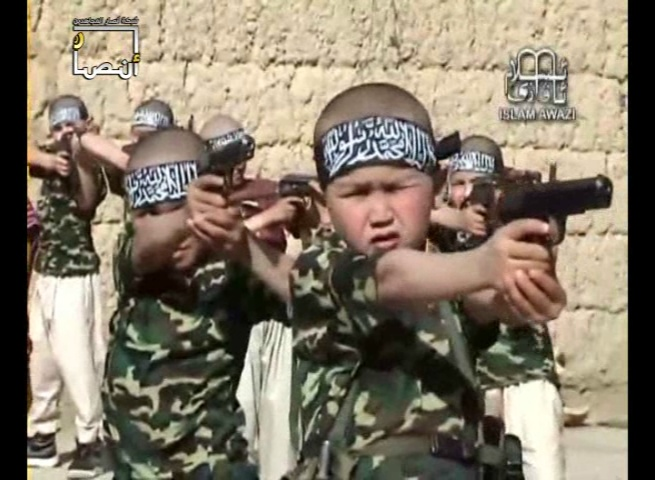 Compilation of Videos of Children in the Jihadi Cause