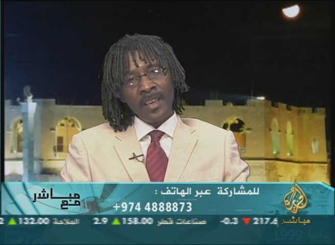 Spokesman for the Sudanese Liberation Movement Mahjoub Hussein: Our Goal Is to Liberate Khartoum