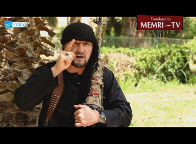 U.S.-Trained Tajikistan Commander Who Defected to ISIS: You American Pigs, We Will Come to Your Cities and Kill You