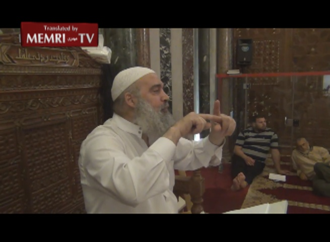Lecture at Al-Aqsa Mosque: The Jews' Use of Children's Blood for Passover Matzos Led to the Holocaust