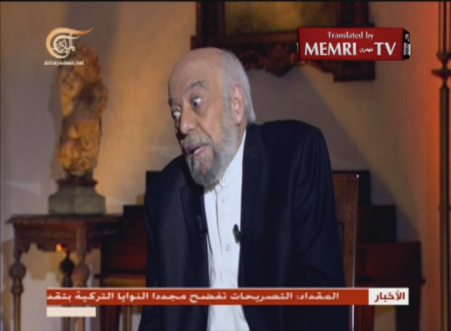 Jordanian Actor Jamil Awad: The Jews Are a Disease on a Global Scale