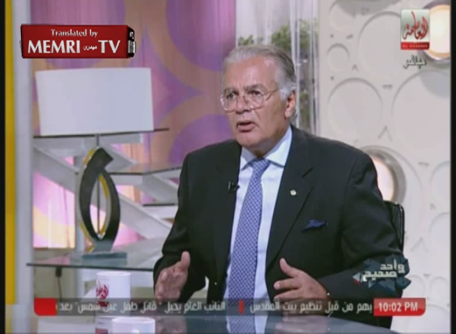 Egyptian Historian Maged Farag: Our Enemy Today Is Gaza, Not Israel