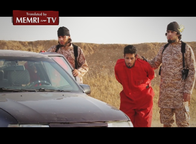 Warning: Extremely Graphic – ISIS Video Shows Execution Of Spies By Drowning, Incineration in Car, Detonating Explosives around Their Necks
