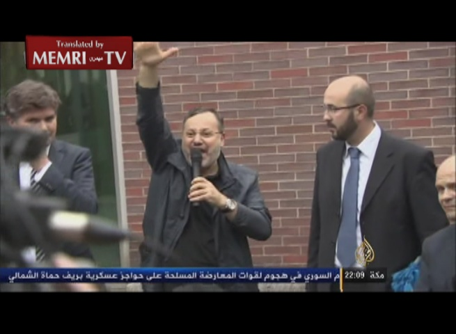Al-Jazeera TV Host Ahmed Mansour upon Release by German Authorities:  My Arrest Was a Trap Set by the Egyptian Regime for Qatar