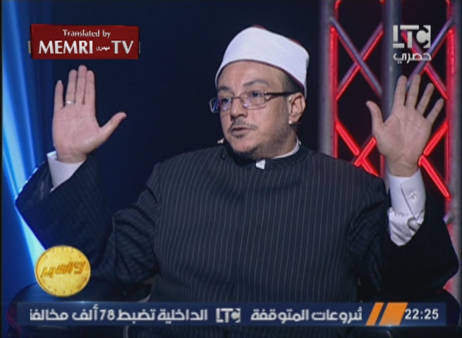 "Egyptian Cleric ""Sheik Mizo"": The Muslim Brotherhood and Salafists in Egypt Should Be Annihilated"