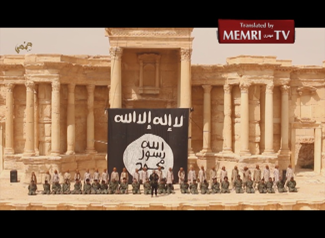 "ISIS ""Cubs"" Execute Captured Soldiers in Ruins of Ancient Syrian City of Palmyra"