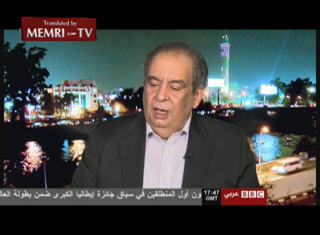 Egyptian Novelist Youssef Ziedan: Bin Laden Was an Innocent Man