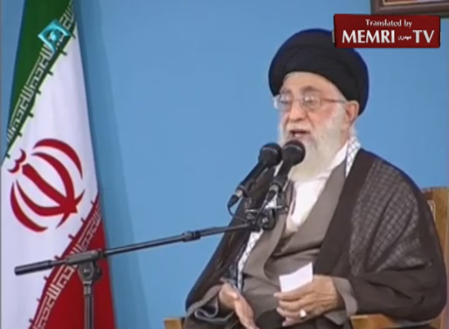 "Iranian Supreme Leader Khamenei: ""In 25 Years, There Will Be No Such Thing as the Zionist Regime"""