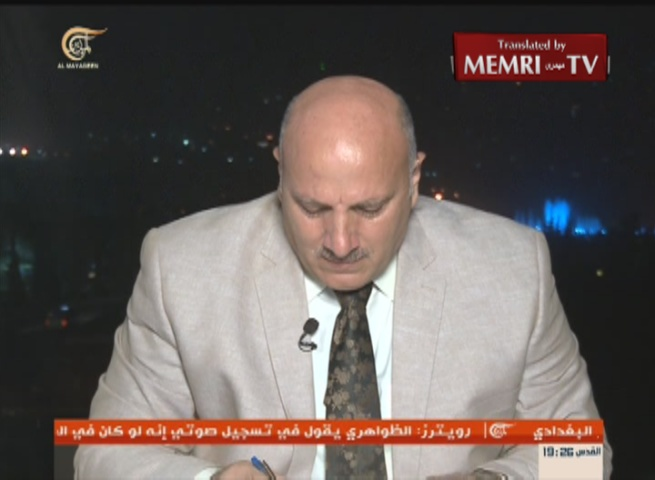 Syrian MP Breaks Down in Tears Discussing the Plight of His Country