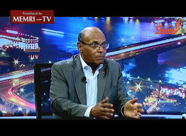 Former Tunisian President Marzouki: The Egyptian Regime Uses the Same Violence as the Argentinian Dictatorship in the '70s