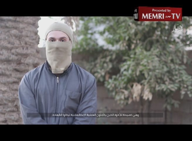 ISIS Video: British Suicide Bomber Abu Musa Al-Britani Bids Farewell to Fellow Jihadists, Blows Himself Up in Ramadi, Iraq