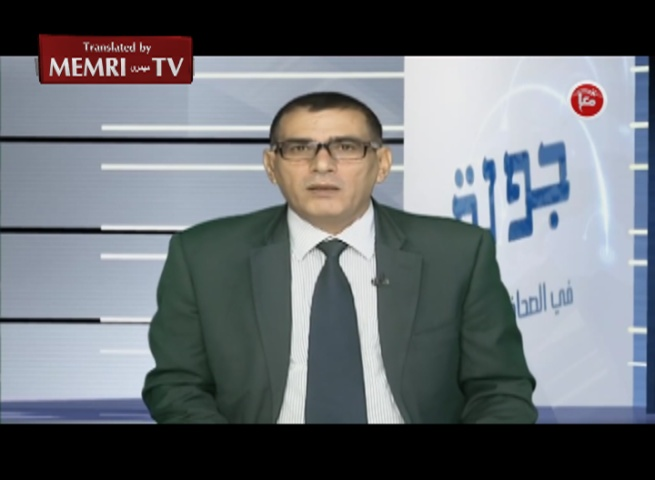 Palestinian News Agency Editor-in-Chief Nasser Al-Laham: The Jews Will Enjoy Security Only under Arab Rule