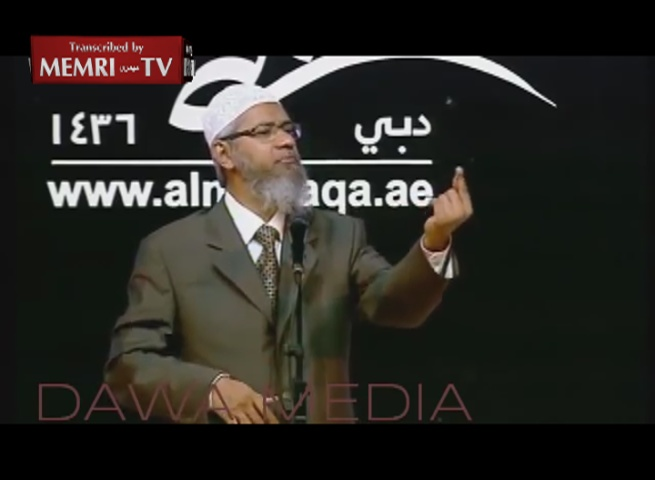 Indian Muslim Cleric Zakir Naik: Slaves in Islam Are Treated Better than Modern-Day POWs