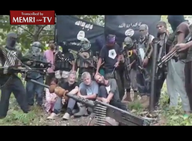 Canadian, Norwegian Hostages Held by the Abu Sayyaf Group in the Philippines Plead for their Lives