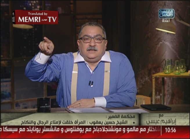 Egyptian TV Host Ibrahim Eissa Slams Salafi Ideology: Putrid Talk that Is Destroying Egyptian Society