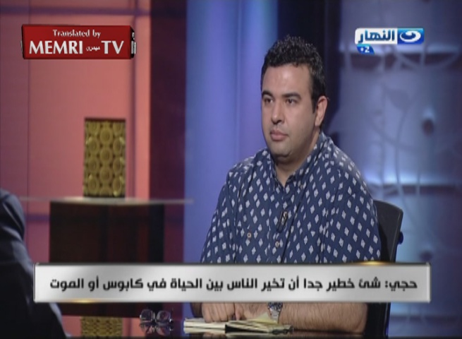 American-Egyptian NASA Scientist Essam Heggy: Building a New Egypt Cannot Be Based on Fighting Terrorism