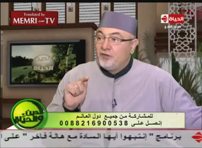 Egyptian Cleric Khaled Elgendy on Paris Attacks: Anyone Who Keeps a Snake Is Bound to Be Bitten by It