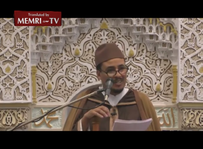 Friday Sermon in Tomblaine, France - Imam Nejdi Condemns Paris Bombings: We Are French Citizens in the Full Sense of the Word