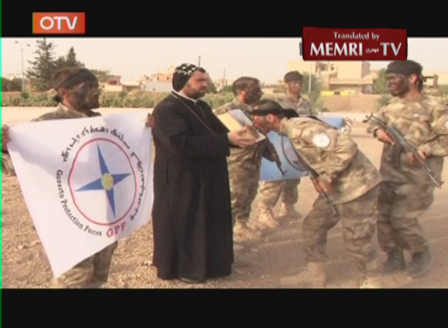 TV Report on Christian Militia Fighting in Syria