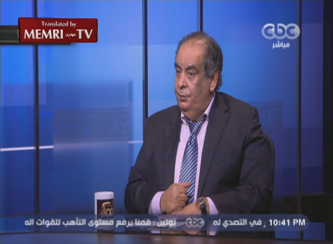 Egyptian Novelist Youssef Ziedan: The Al-Aqsa Mosque Is Not Sacred to the Muslims or the Jews