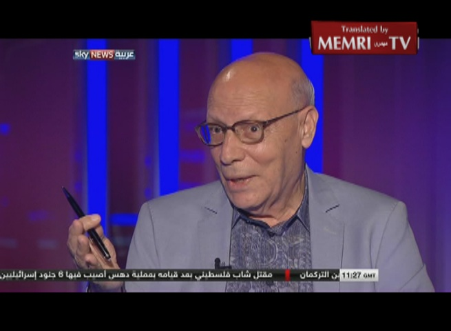 Jordanian Intellectual Fehmi Jadaane: ISIS Is Not That Different Ideologically from the Muslim Brotherhood
