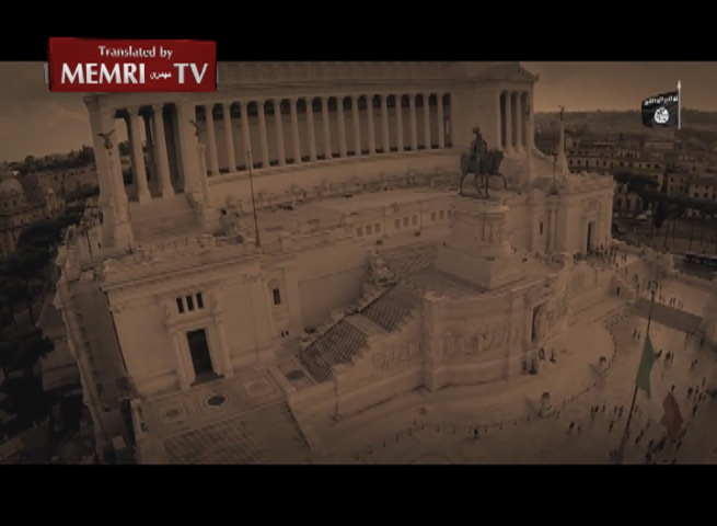 ISIS Shows Pictures of Rome in Video Showcasing Its Tank Force