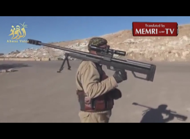 Iraqi Shiite Militia Sniper at Work: I've Fought the Americans and Jews, Killed 173 ISIS Terrorists