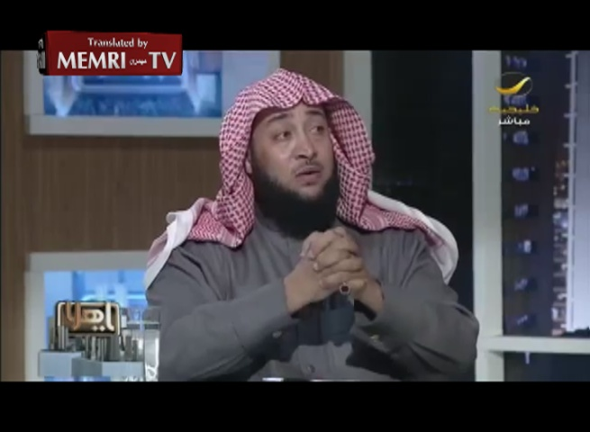 Saudi Cleric Ali Al-Malki: Our Ruler May Kill One Third of the People So That Another Third Can Live in Peace