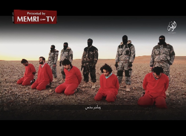 "ISIS Video Shows Execution of Five British ""Spies"": Cameron, We Will Invade Britain, Instate Shari'a Law -Warning: Graphic Images"