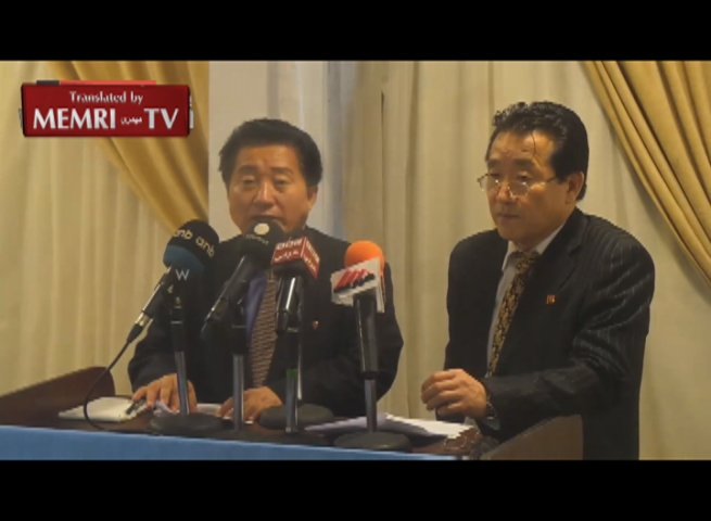 North Korean Ambassador to Egypt Pak Chun Il: We will Continue to Develop Nuclear Weapons