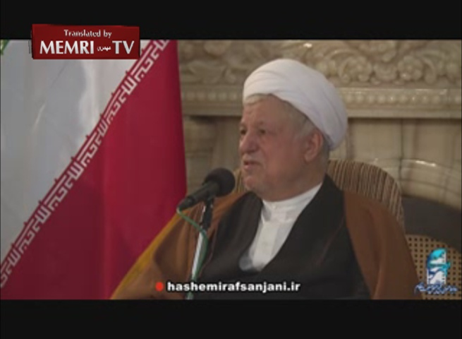Head of Iranian Expediency Council Rafsanjani Protests against the Regime's Oppression of Its Citizens