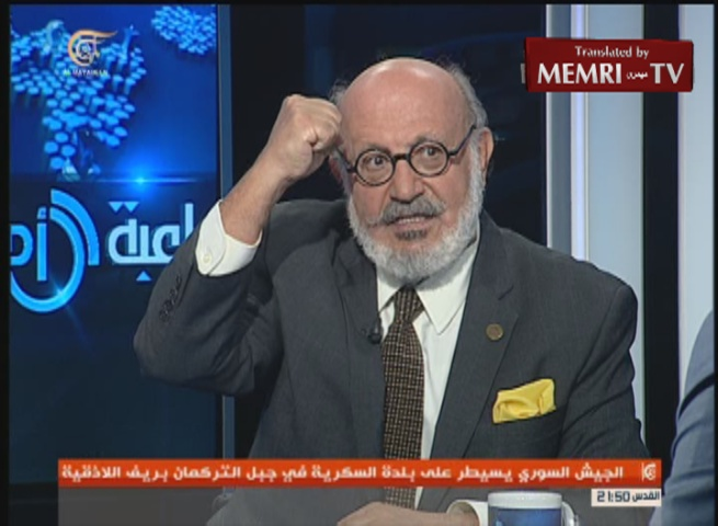 Leader of the Lebanese Peace Party Roger Edde: The Arabs' Problem Is Iran, Not Israel